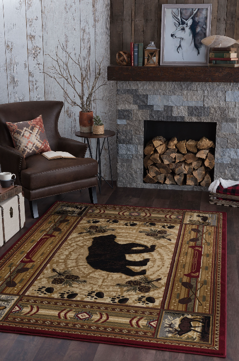 Create a custom rug with our carpet binding services